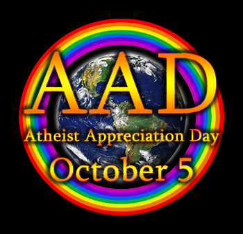 Atheist Appreciation Day - October 5 (every year)